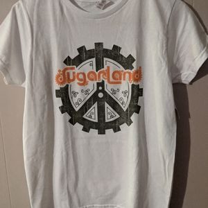 Sugarland Concert T Shirt White